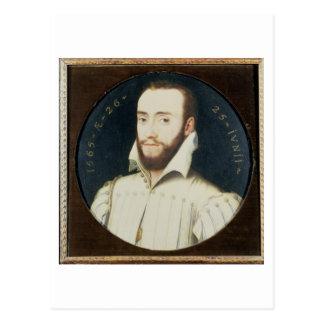 Carte Postale Portrait T34055 d'un monsieur barbu, âgé 26, 1