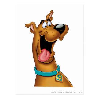 Carte Postale Pose 15 d'aerographe de Scooby Doo