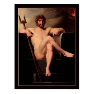 Carte Postale Poseidon a couronné par Heinrich Fuger