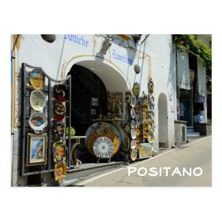 Carte Postale Positano, Italie