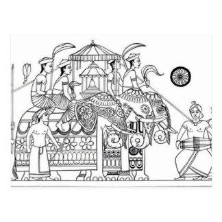 Carte Postale Possession traditionnelle Kandy Sri Lanka de Kandy