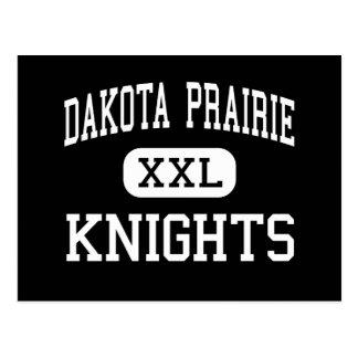 Carte Postale Prairie du Dakota - chevaliers - haute -