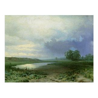 Carte Postale Pré humide, 1872