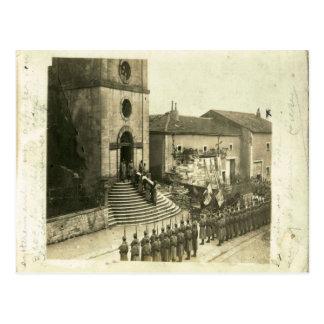 Carte Postale Première Guerre Mondiale,    enterrement militaire