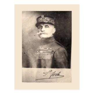 Carte Postale Première Guerre Mondiale, Marechal Foch, image