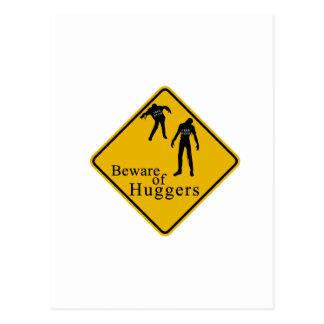 Carte Postale Prenez garde de Huggers