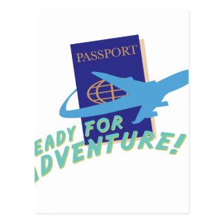 Carte Postale Préparez pour l'aventure