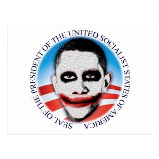 Carte Postale Président de l'USSA
