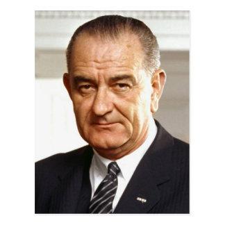 Carte Postale Président de Lyndon B. Johnson trente-sixième