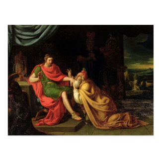 Carte Postale Priam et Achille