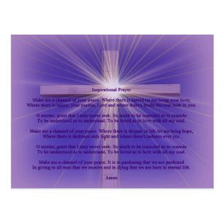 Carte Postale prière inspirée