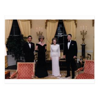 Carte Postale Prince_Charles, _Princess_Diana, _Nancy_Reagan,