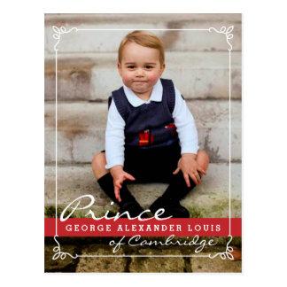 Carte Postale Prince George et prince William
