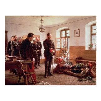 Carte Postale Prince héritier Frederick par le cadavre