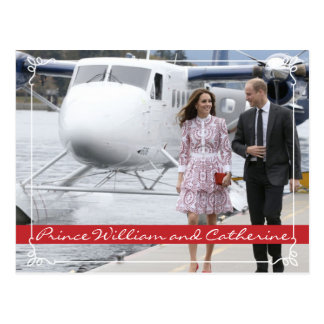 Carte Postale Prince William et Catherine