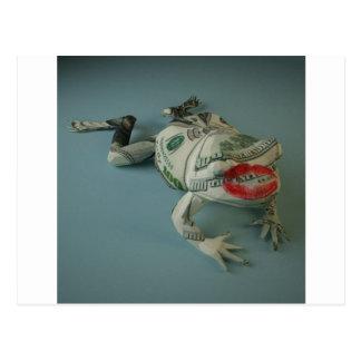 Carte Postale Princes de grenouille