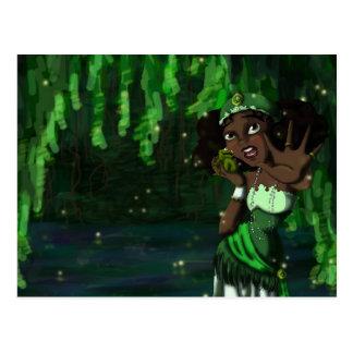 Carte Postale Princesse de grenouille