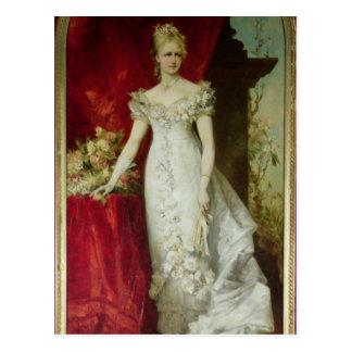 Carte Postale Princesse héritière Stephanie de la Belgique