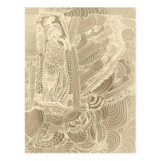 Carte Postale Princesse romaine