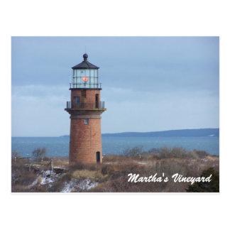 Carte postale principale gaie de Martha's Vineyard