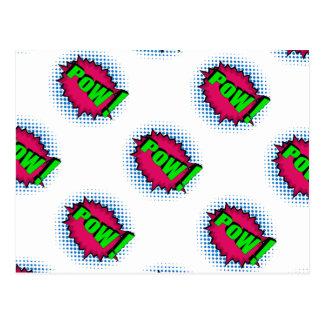 Carte Postale Prisonnier de guerre comique d'art de bruit !