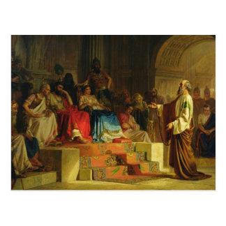 Carte Postale Procès de l'apôtre Paul