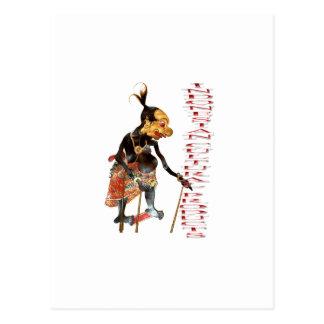 Carte Postale Produits culturels indonésiens