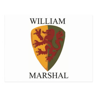Carte Postale Produits de maréchal de William