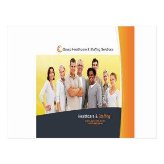 Carte Postale Produits promotionnels de soins de santé de Savco