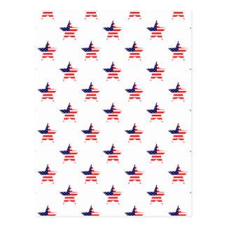 Carte Postale Profil sous convention astérisque américain de