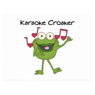 Carte Postale Prophète de malheur de karaoke