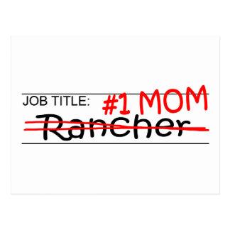 Carte Postale Propriétaire d'un ranch de maman du travail