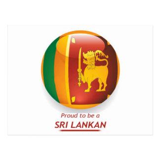 Carte Postale proude à être sri-lankais.