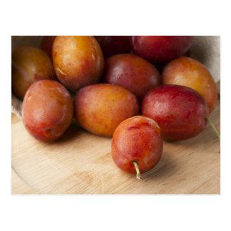Carte Postale Prunes fraîches