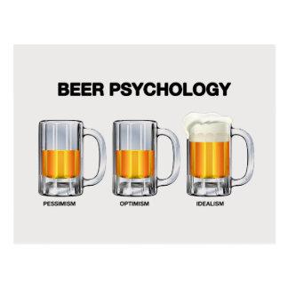 Carte Postale Psychologie de bière