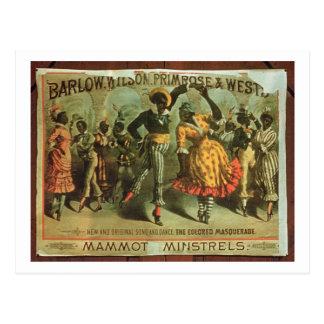 Carte Postale Publicité par affichage Barlow, Wilson, primevère