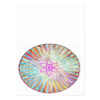 Carte Postale Puissance d'âme : Conception artistique à énergie