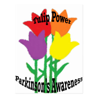 Carte Postale Puissance de tulipe