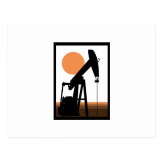 Carte Postale Puits de pétrole