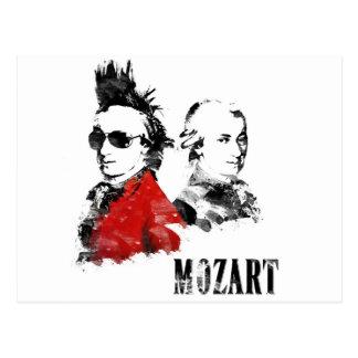 Carte Postale Punk de Wolfgang Amadeus Mozart