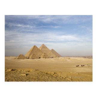 Carte Postale Pyramides le Caire, Egypte