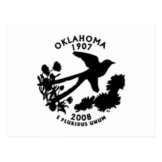 Carte Postale Quart d'état de l'Oklahoma