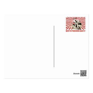 Carte Postale Quartet de Quentin Paquignon - Leonardo Susi