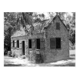 Carte Postale Quarts slaves de plantation