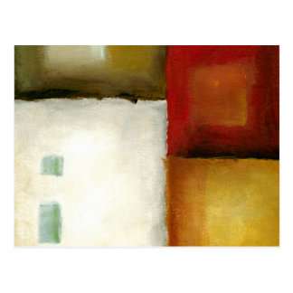 Carte Postale Quatre rectangles colorés par Chariklia Zarris