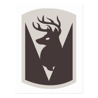 Carte Postale quatre-vingt-sixième Équipe de combat de brigade