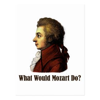 Carte Postale Que Mozart ferait-il ?
