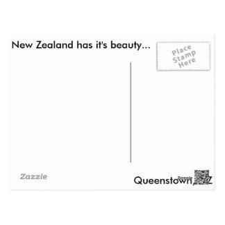Carte Postale Queenstown, NZ