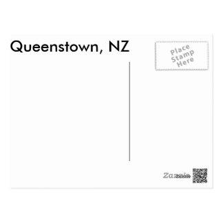 Carte Postale Queenstown, NZ le Remarkables