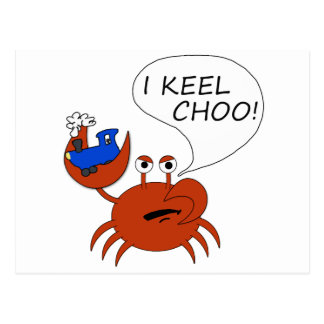 Carte Postale Quille Choo